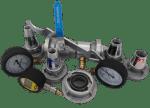 Uproszczone urządzenie do pomiaru hydrantu zewnętrznego UPH