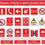 Znaki ochrony ppoż.